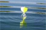 Маркерный поплавок для определения глубины и характера дна