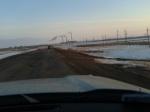 Ириклинское водохранилище - Переправа, Плотина